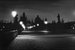 Noční Praha 1980, Karlův most/ Night Prag 1980, Charles Bridge